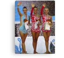 Rhythmic Gymnastics World Cup Winners Canvas Print