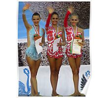Rhythmic Gymnastics World Cup Winners Poster