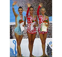 Rhythmic Gymnastics World Cup Winners Photographic Print