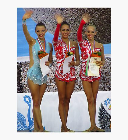Rhythmic Gymnastics World Cup Winners Photographic Print