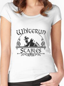 White Run Stables Women's Fitted Scoop T-Shirt