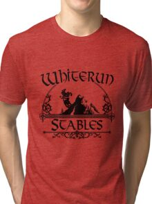 White Run Stables Tri-blend T-Shirt