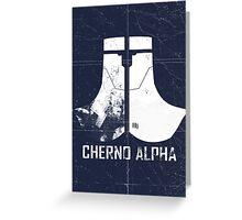 Cherno Alpha Greeting Card