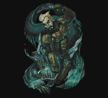 Cherno Alpha - Aleksis Beats Up a Kaiju by stablercake