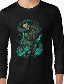 Cherno Alpha - Aleksis Beats Up a Kaiju Long Sleeve T-Shirt