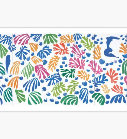 Henri Matisse Cut-Out Sticker