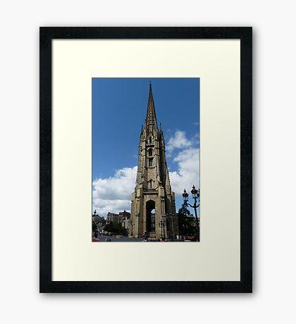 Tour St Michel, Bordeaux Framed Print