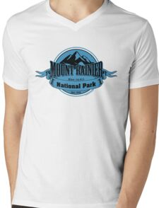 Mount Rainier National Park, Washington Mens V-Neck T-Shirt