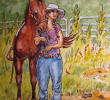 Cowgirl Series: Picture Day by Jeanne Vail