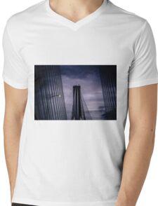 New Port Mann bridge Mens V-Neck T-Shirt