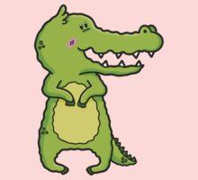 crocodile One Piece - Short Sleeve