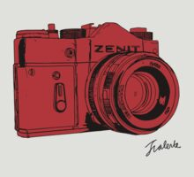 Red Russian Camera by jthing