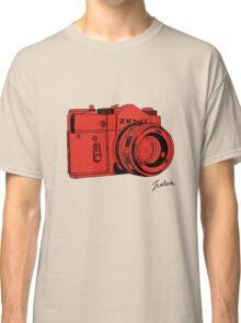 Red Russian Camera Classic T-Shirt