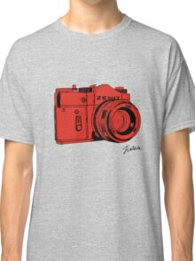 Red Russian Camera Classic T-Shirt