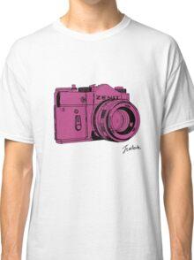 Pink Russian Camera Classic T-Shirt