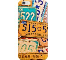 License Plate IPhone iPhone Case/Skin