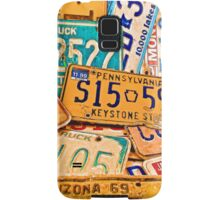 License Plate IPhone Samsung Galaxy Case/Skin