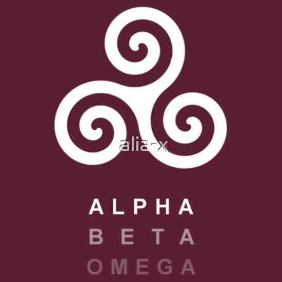 Quot Alpha Beta Omega Quot T Shirts Amp Hoodies By Alia X Redbubble