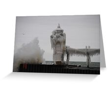 St Joseph North Pier Lighthouse - 29 Greeting Card