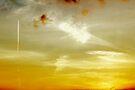 Sunset Sky in Norfolk by Avril Harris