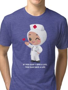 Cute Nurse Tri-blend T-Shirt