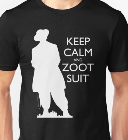 Keep Calm and Zoot Suit (El Pachuco - Dark) T-Shirt