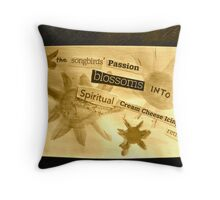Songbirds' Passion Throw Pillow