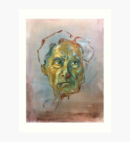 Bertrand Russell (Sketch) Art Print