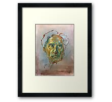 Bertrand Russell (Sketch) Framed Print