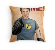 Captain Hammer - You Want Me Throw Pillow