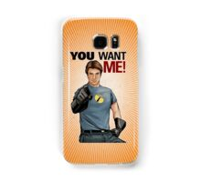 Captain Hammer - You Want Me Samsung Galaxy Case/Skin