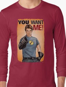 Captain Hammer - You Want Me Long Sleeve T-Shirt