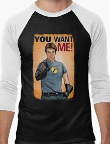 Captain Hammer - You Want Me Men's Baseball ¾ T-Shirt