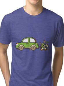 net car Tri-blend T-Shirt