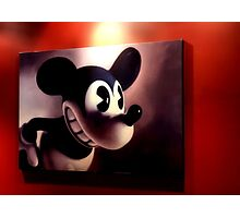 M. Mouse Photographic Print