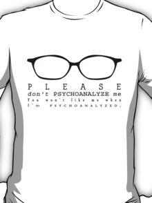Psychoanalyze V.2 T-Shirt