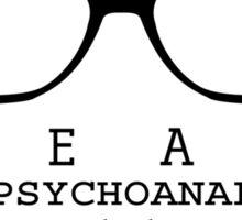 Psychoanalyze V.2 Sticker