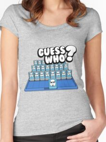 Guess Who Stormtrooper Women's Fitted Scoop T-Shirt
