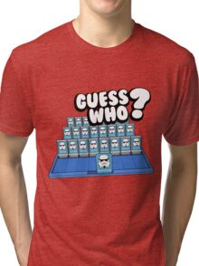 Guess Who Stormtrooper Tri-blend T-Shirt