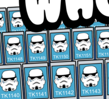 Guess Who Stormtrooper Sticker