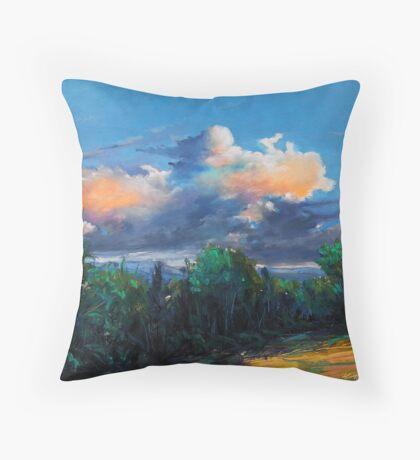 Irish sky II Throw Pillow