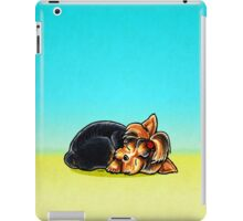 Yorkie Sleeping Babe iPad Case/Skin