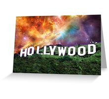 Hollywood - Home of the Stars by Sharon Cummings Greeting Card