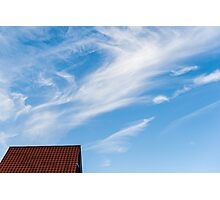 Rooftop tiles Photographic Print
