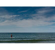 Stand Up Paddle Surfing Photographic Print