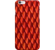 Scales of the Red Dragon iPhone Case/Skin