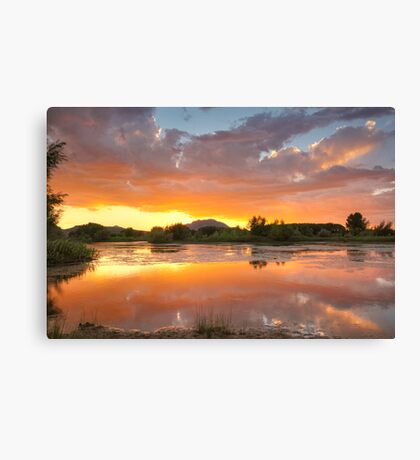 Sunset Surround 2 Canvas Print