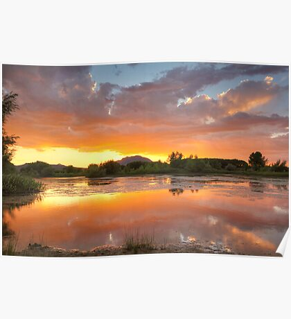 Sunset Surround 2 Poster