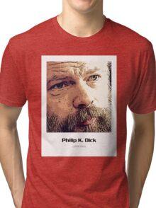 Philip K. Dick - Close Up Tri-blend T-Shirt