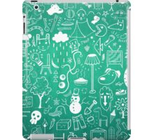 Winter Madness Blue iPad Case/Skin